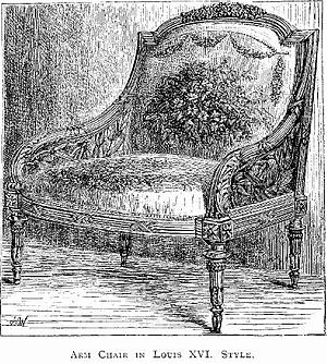 An Arm Chair (Louis XVI.)