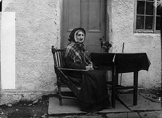 An old woman, Llansannan (Williams)