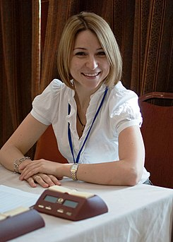 Anastasia Sorokina at the World Junior Chess Championship in Athens 2012