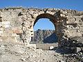 Anazarbus clikya west gate and anvarza castle.JPG