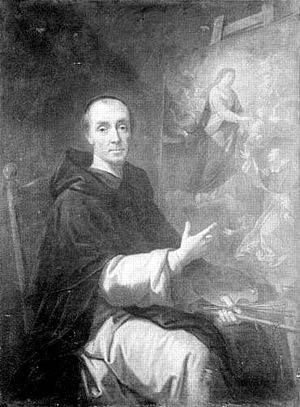 Jean André - Self-portrait by Jean André, Palace of Versailles