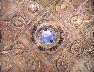 Soffitto A Volta Affrescato : Camera degli sposi wikipedia