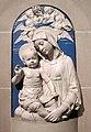 Andrea della robbia, madonna col bambino in terracotta invetriata, 1470-75 ca..JPG