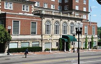 Andrew Johnson Building - The Andrew Johnson's Gay Street facade