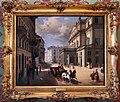 Angelo inganni, la facciata del teatro alla scala nel 1852.jpg