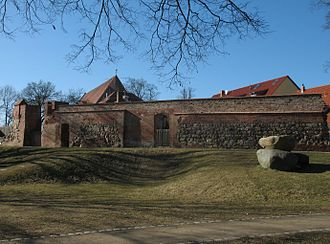 Angermünde - Image: Angermuende city wall