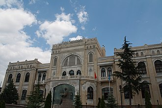 State Art and Sculpture Museum - State Art and Sculpture Museum in Ankara, built between 1927 and 1930.