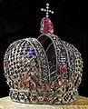 Anna of Russia's crown (1730, Kremlin museum) by shakko 04blackened.jpg