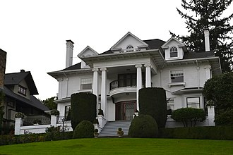National Register of Historic Places listings in Southwest Portland, Oregon - Image: Annand Loomis House (Portland, Oregon)