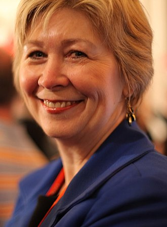 Anne McGrath - McGrath at the NDP's 2011 federal election campaign launch