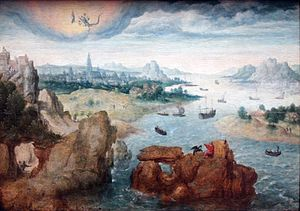 Saint John on the Island of Patmos