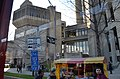Another food cart and main building of the Toronto University (27864811556).jpg