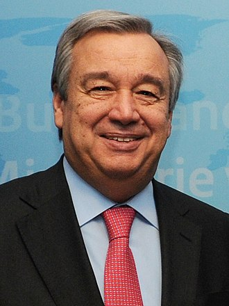 Prime Minister of Portugal - Image: António Guterres 2013