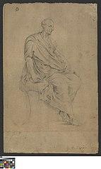 Antiek beeld van een consul