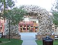 Antler Arch, Jackson, WY Town Square 9-2011 (6842684209).jpg