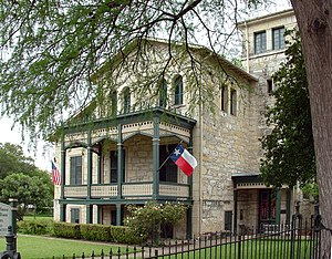 San Antonio Conservation Society - Image: Anton Wulff House, San Antonio TX