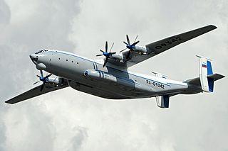 Antonov An-22 Strategic airlifter by Antonov