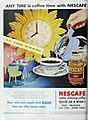 Any time is coffee time with Nescafé, 1948.jpg