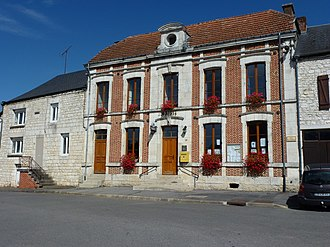 Aouste - Image: Aouste (Ardennes) mairie