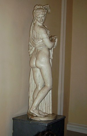 Anasyrma - Copy of a Hellenistic Aphrodite Kallipygos at The Hermitage in St. Petersburg.