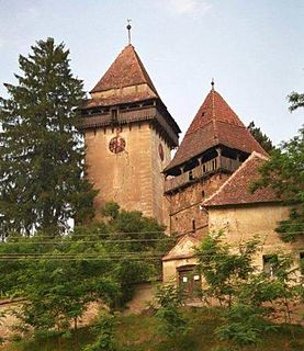 Apold Commune in Mureș, Romania