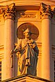 Apostle statue on Helsinki Cathedral in Kruununhaka, Helsinki, Finland, 2018 June - 2.jpg