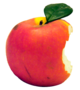 Apple with a bite taken out of it.png