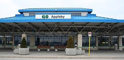 Comment aller à Appleby GO Station en transport en commun - A propos de cet endroit