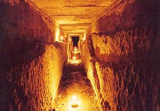 Водопровод внутри Пон-дю-Гара, середина Iв. н.э.