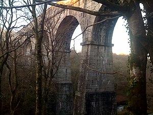 Luxulyan - Treffry Viaduct in Luxulyan Valley