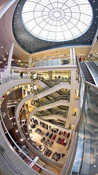 Stockmann - The dome of the store