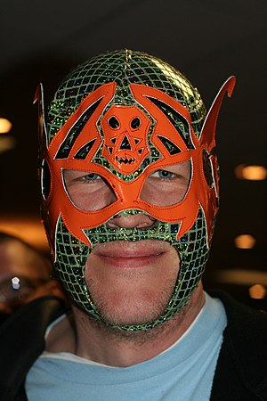 Los Guerreros Tuareg - The mask of deputy leader Arkangel de la Muerte (Not the actual wrestler)