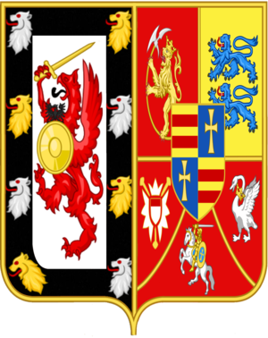 Duke of Holstein-Gottorp - Coat of Arms of the House of Holstein-Gottorp-Romanov