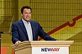 Arnold Schwarzenegger speaks at New Way California Press event in Los Angeles (27088446098).jpg