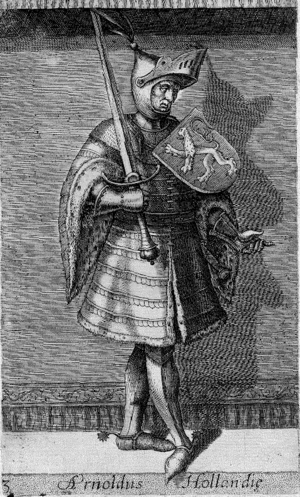 Arnulf, Count of Holland - Arnulf as imagined in the 16th century