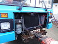 Arriva bus 5911 (M911 MKM) being towed for scrap, 12 November 2013 (5).jpg