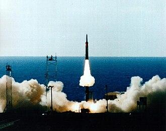 Arrow (Israeli missile) - Image: Arrow 2 96feb