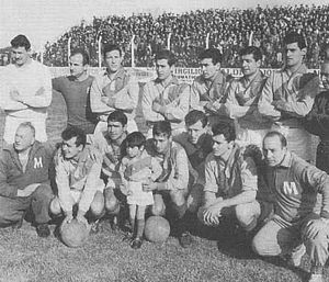 Arsenal de Sarandí - The team that won the Primera C championship in 1964.