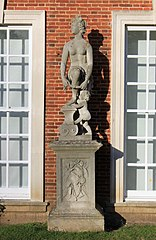 Statue Of Venus To Right Of Main Entrance To Trent Park