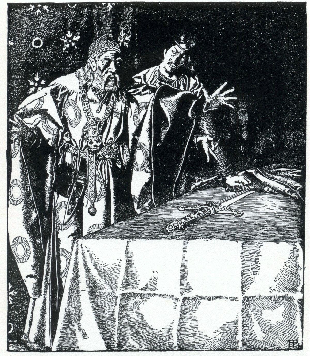 английский эпос король артур