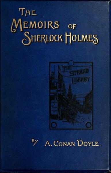File:Arthur Conan Doyle, The Memoirs of Sherlock Holmes (Newnes, 1894).djvu