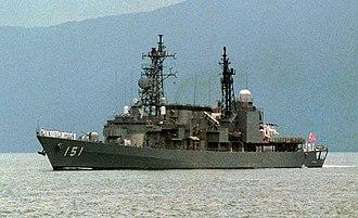 Asagiri-class destroyer - Image: Asagiri DN SC 92 06175