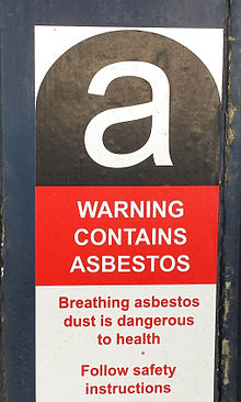 Asbestos Warning Sticker as per IS 12081