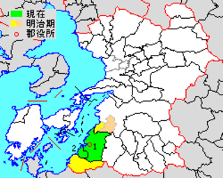 Ashikita District, Kumamoto District of Japan