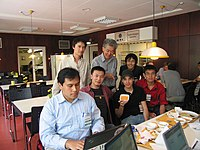 Asian participation at Wikimania 2005