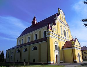Rudky - Image: Assumption of the Blessed Virgin Mary RC Church. Rudky