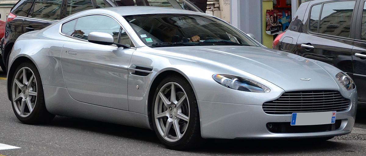 Aston Martin V Vantage Wikipedia - Aston martin vantage v8