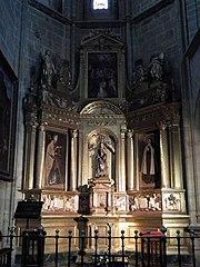 Retablo de la Virgen de la Majestad (catedral de Astorga)