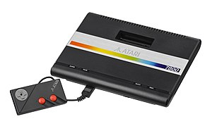 Atari 7800 System (PAL system with Joypad controller)