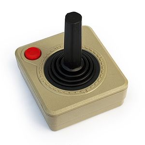 Joystick from the Atari XE. It emlpoys the sam...
